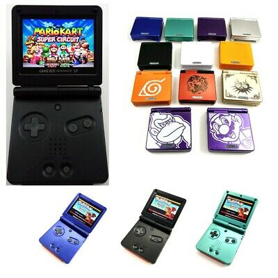 Game Boy Advance SP Game Console with V2 iPS Backlight Backlit LCD MOD GBA SP