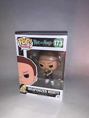 Funko Pop Vinyl Animation Rick and Morty # 173 Weaponized Morty **NEW**