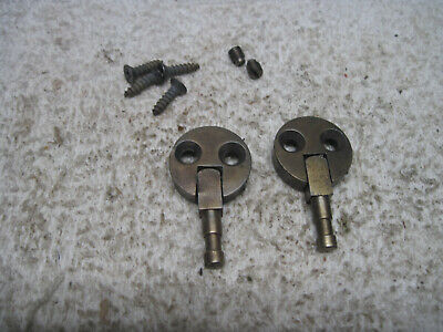 Montgomery Ward Sewing Cabinet Case Hinges Set Screws Grub Urr 269 Lollipop