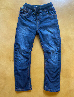 NEXT UK Boys Dark Denim Jeans Size 8 Years ECU!