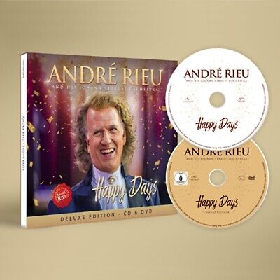 RIEU ANDRE - Happy Days (Deluxe Edition), 1 Audio-CD + 1 DVD