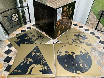 The Rolling Stones Rolled Gold 2007 Abkco Quad LP.  NM Condition
