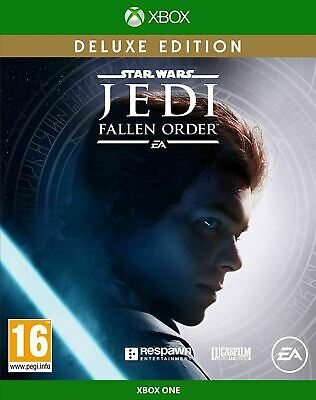Star Wars JEDI Fallen Order - Deluxe Edition | Xbox One New sealed
