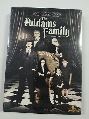 THE ADDAMS FAMILY - 22 Classic ADAMS FAMILY TV Episodes Vol. 1,  3-DVD SET - NEW