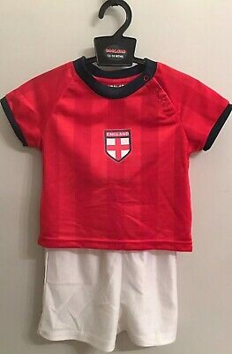 England Baby Boy/girl Football Kit Age 12-18 Months 🏴󠁧󠁢󠁥󠁮󠁧󠁿