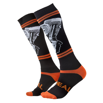 """O/'neal ONEAL pro motocross MX  socks /""""CORPORATE BLUE/"""" adult knee high"""