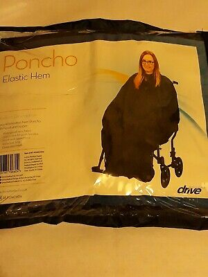 Wheelchair Elasticated Poncho BNIP