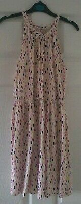 Girls Pretty Multicoloured Summer Dress From Matalan Aged 11 Years