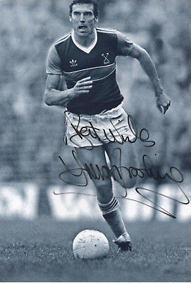 SIR TREVOR BROOKING Signed 12x8 Photo ENGLAND & WEST HAM UTD COA