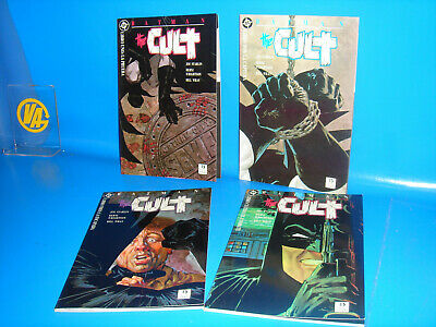 Lot 4 Tomos Batman. the Cult - Jim Starlin Wrightson Editions Zinco 1989