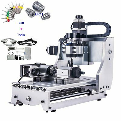 Updated 4 Axis CNC 3020T USB Router Engraver/Engraving Drilling and Milling DHL