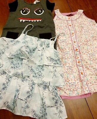 Girls Age 4 Bundle dress includes Ted Baker, Calvin Klein and H&M