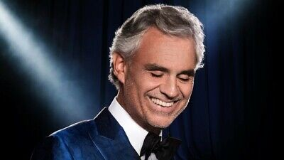 Andrea Bocelli NYC-12/19/19 2 Floor Tickets! Sec 3 Row 6-Madison Square Garden!