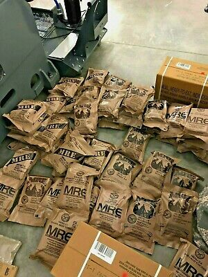 MRE US ARMY Military Issued Ration Meals Ready To Eat MRE