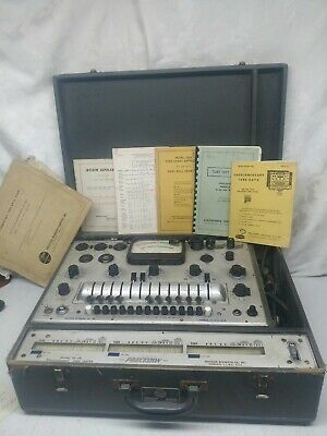 Precision 10-40 Tube Tester Checker Functional KCLHN must see rare find