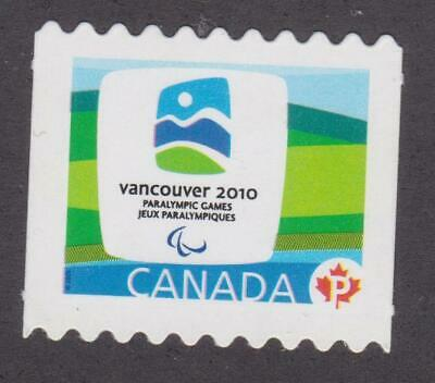 CANADA 2009  #2307Bii - 2010 Olympic Emblems (Paralympic)- Unused from coil