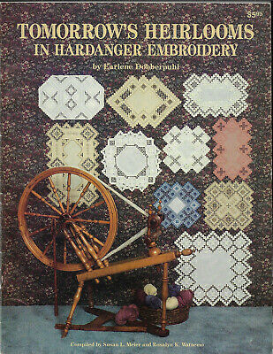 Tomorrow's Heirlooms in Hardanger Embroidery - Meier & Watnemo softcover