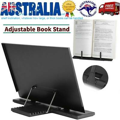 Adjustable Portable Book Document Stand Reading Desk Textbook Holder Bookstand