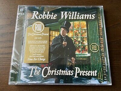 ROBBIE WILLIAMS The Christmas Present (2CD) New Sealed