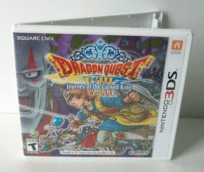 Dragon Quest VIII 8 Case Artwork Only NO GAME Nintendo 3DS Journey Cursed King
