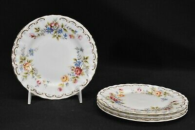 Royal Albert Jubilee Rose Set of 4 Bread & Butter Plates