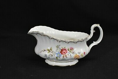 Royal Albert Jubilee Rose Gravy Boat (No Underplate)
