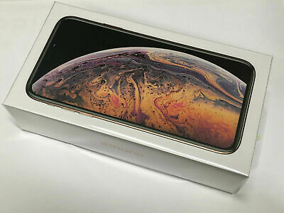 Brand New Sealed Apple iPhone XS 512GB Gold Factory Unlocked