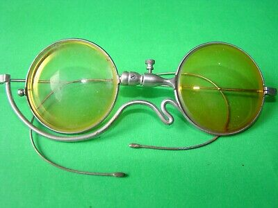 Antique Medical Eye Surgical Optometrist Test Glasses With Special Form Must See