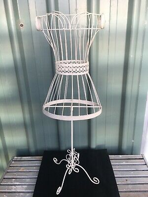 WIRE FRAME DRESS MANNEQUIN DECORATIVE DUMMY On STAND. 75CM.