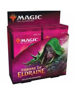Magic Collector Booster Box Throne of Eldraine (English)