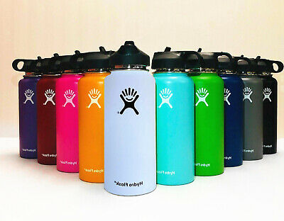 Hydro Flask_32OZ- Water Bottle Stainless Steel & Vacuum Insulated with Straw Lid