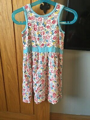 Cath Kidston Girl Dress Age 2-3 Floral Blue