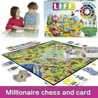 The Game of Life Traditional Board Game Fun Family Game Party Game Xmas Gift New
