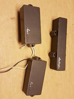80's JACKSON P & J BASS PICKUPS - made in USA = 8,1 & 11,6 K OUTPUT
