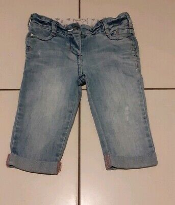 Girls Fat Face Cropped Jeans / Long Shorts Age 4