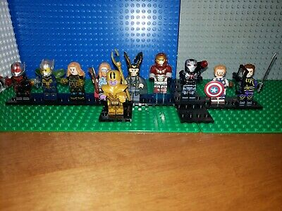 Iron Man AVENGERS Minifigures  lot  81 Marvel End Game Thanos Fit Legos