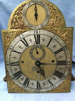Antique Musical Eight Day Longcase Clock Mvt C1730 Robert Markham Original.