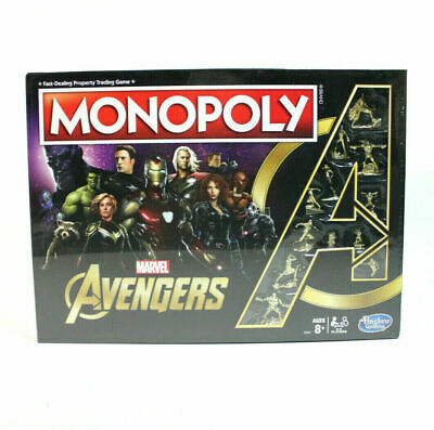 Monopoly Marvel Avengers Edition Board Game (266)
