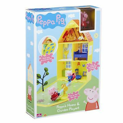 PEPPA / PEPPER PIG - House & Garden Toy Great Kids Xmas Gift Present NEW / Boxed