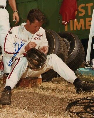 MARIO ANDRETTI Signed Autographed Photo