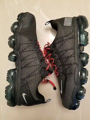 Nike Air Vapormax Run Reflective New Black/Red Men's Size 10