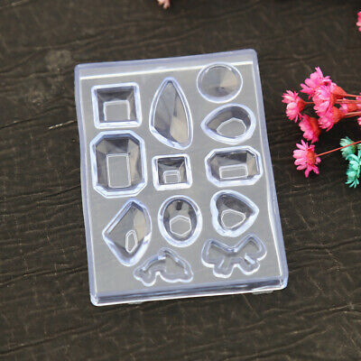 Silicone Mold DIY Resin Pendant Craft Tool for Earrings Necklace Jewelry-Making