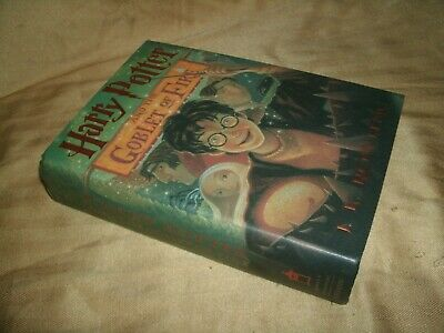 Harry Potter And The Goblet Of Fire HardBack Book 1st American Ed.  July 2000