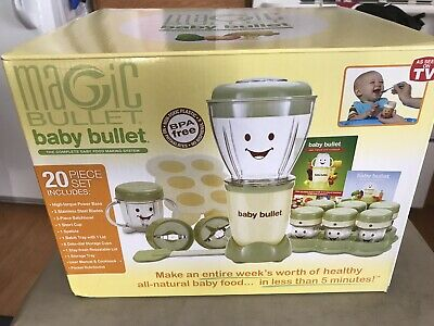 Magic Bullet Baby Bullet Care System. NEW FREE SHIPPING