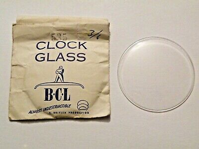 BCL New Replacement Round Convex Clock Dial Glass 535 53,5mm Fast Delivery