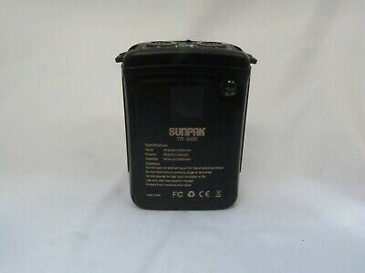 Sunpak TR-3000 Dual Output High Voltage Battery