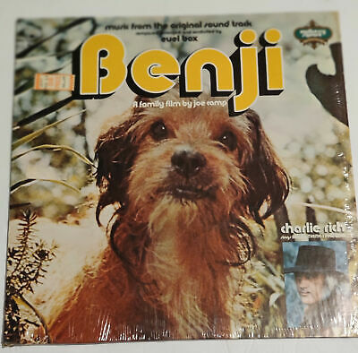BENJI Dog Movie SOUNDTRACK LP Charlie Rich Euel Box 1974 Mulberry Label