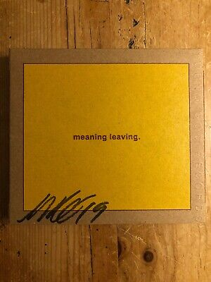 Swans—Leaving Meaning—2 Cd—Signed By Gira—Young God