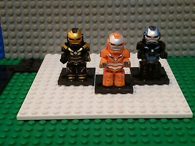 Marvel AVENGERS Iron Man Minifigures Lot 89 Fits Legos Hulk Thanos Bust End Game