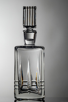 Waterford Crystal Decanter Crack On Opening
